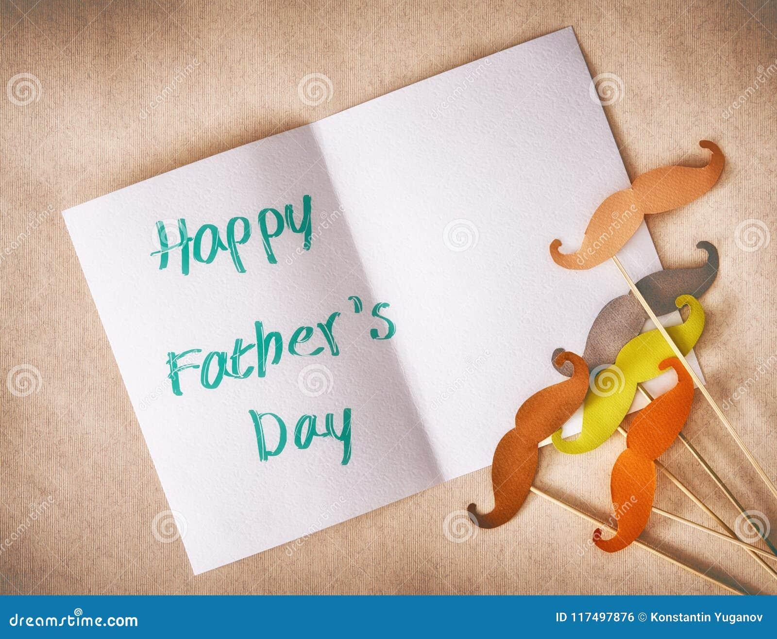 Lycklig dag för fader` s