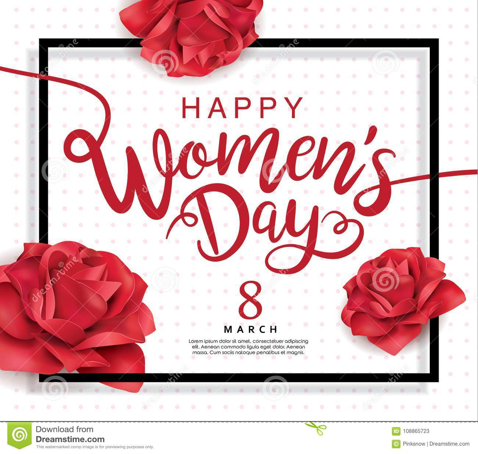 Lycklig dag för kvinna` s