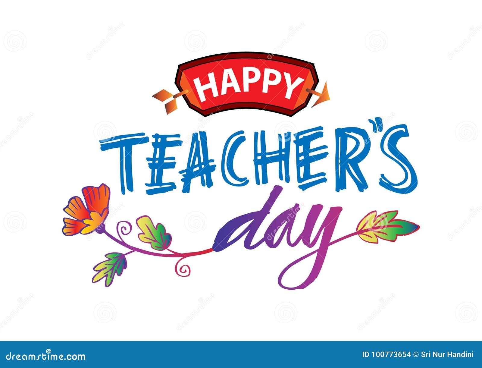Lycklig dag för lärare` s