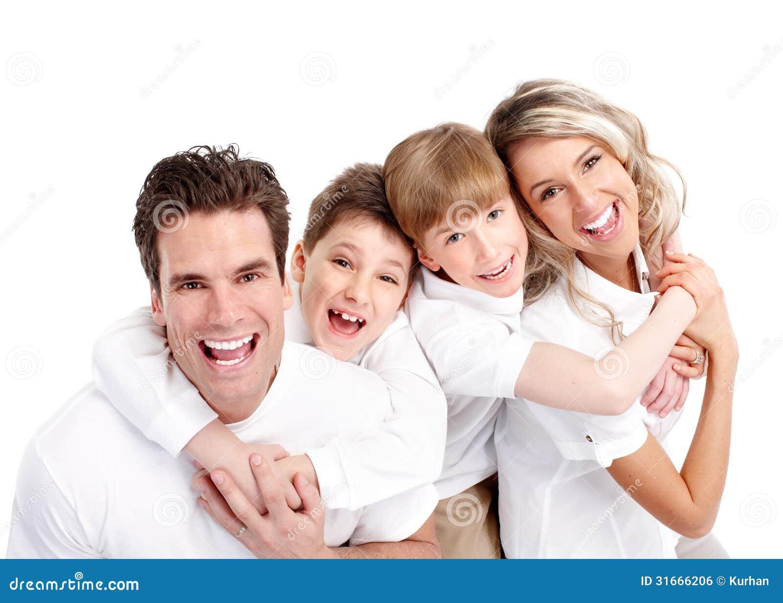 Lycklig familj.