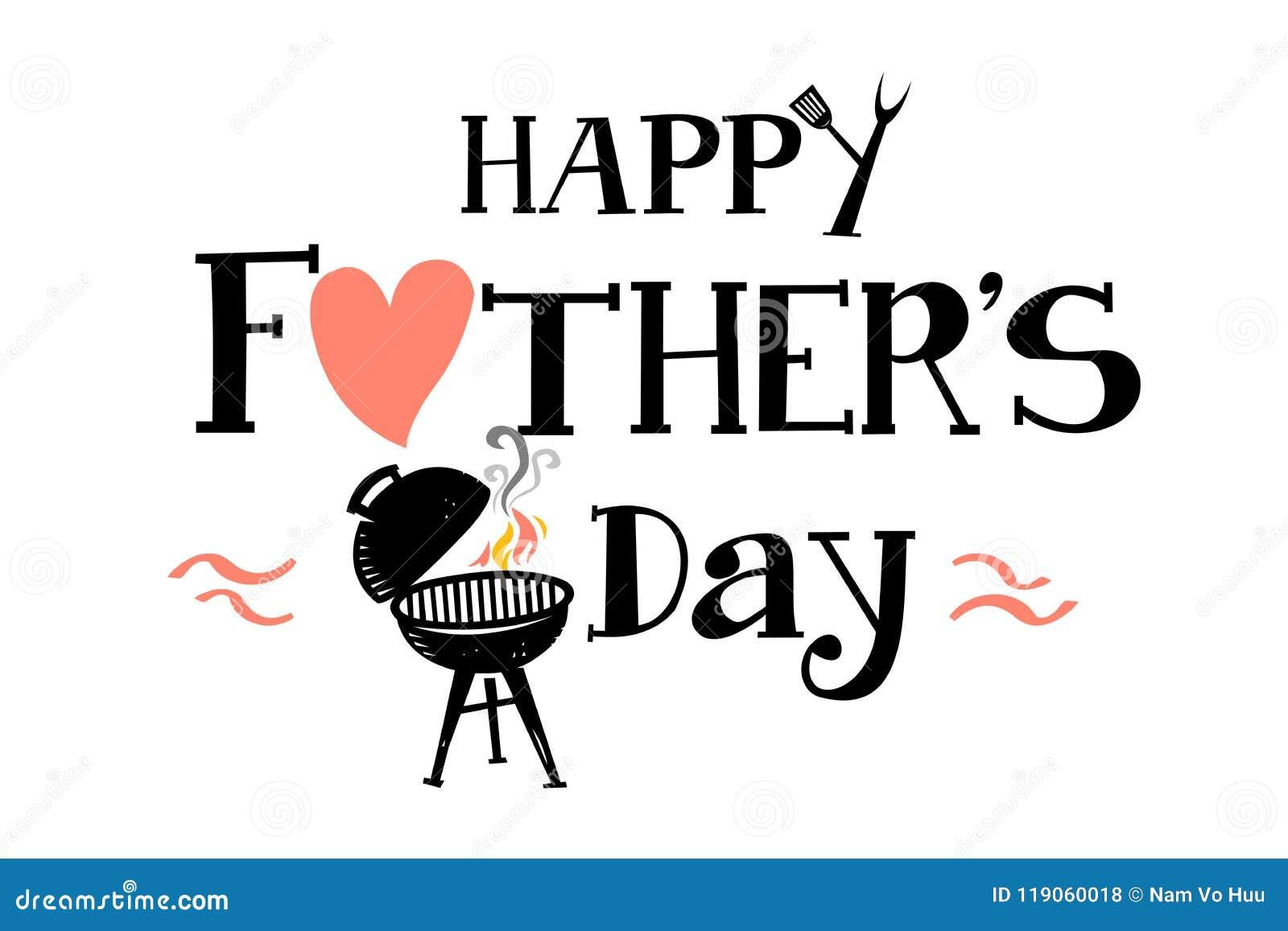 Lycklig Father' s-dag