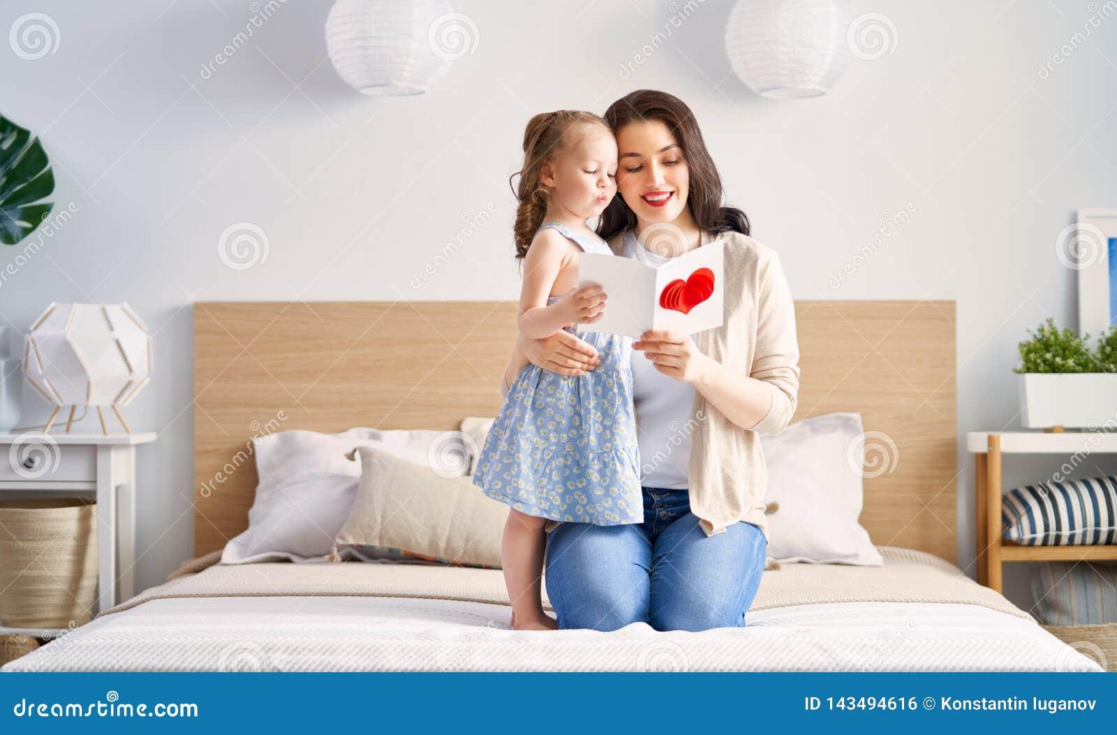Lycklig moder s för dag