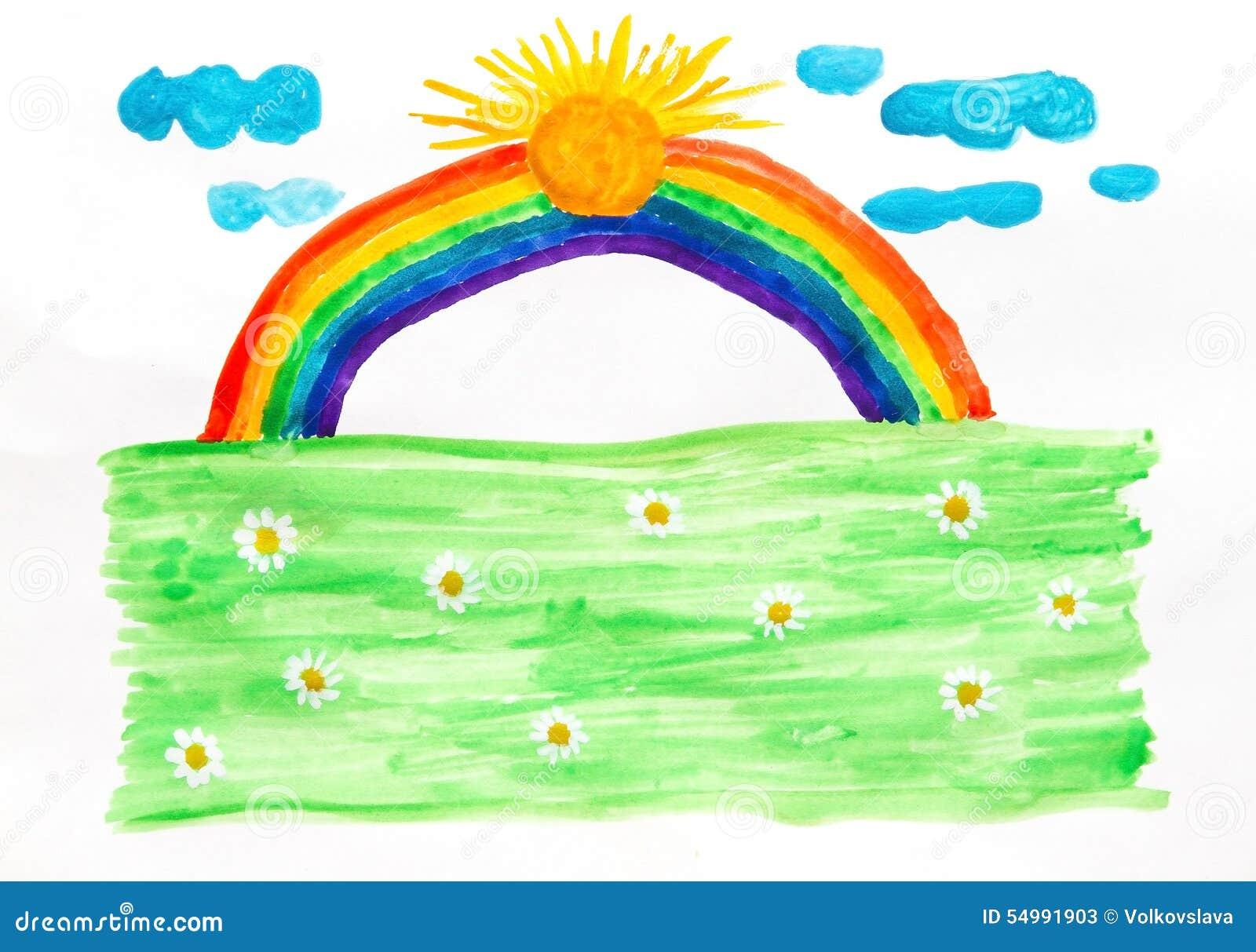 Lycklig regnbåge