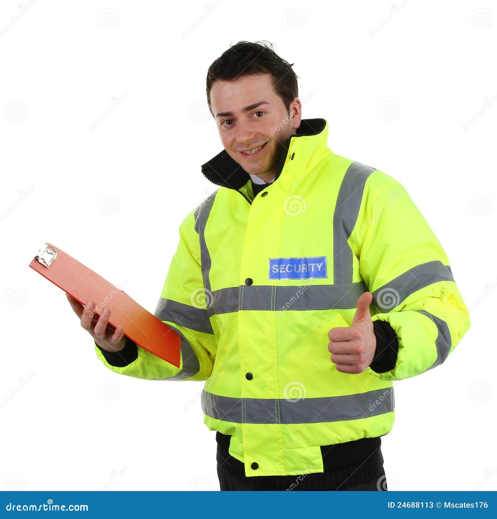 Lycklig säkerhet för guard