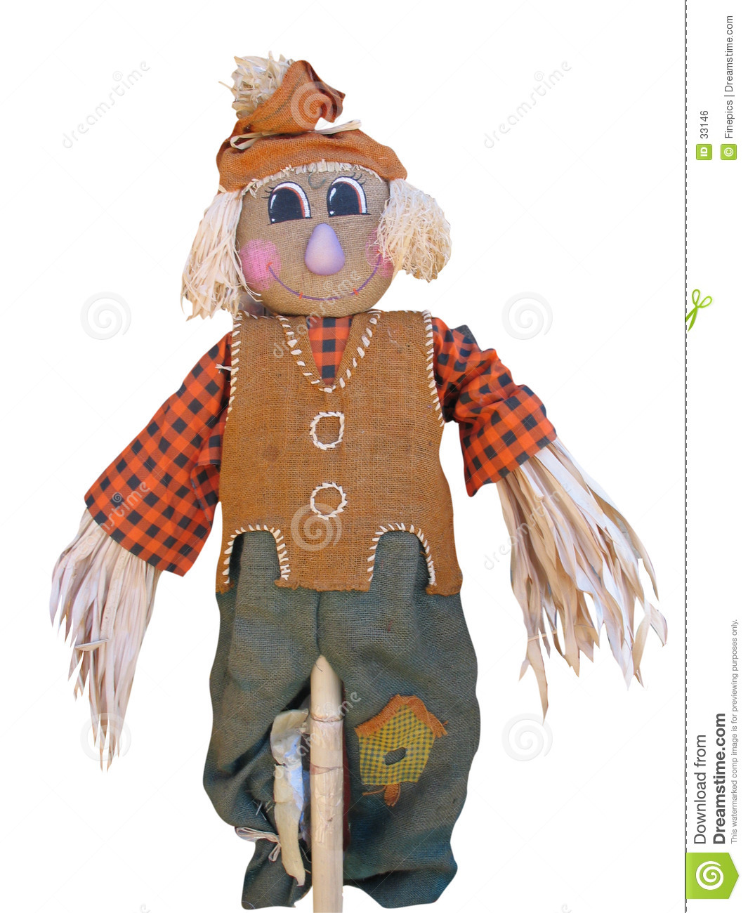 Lycklig scarecrow