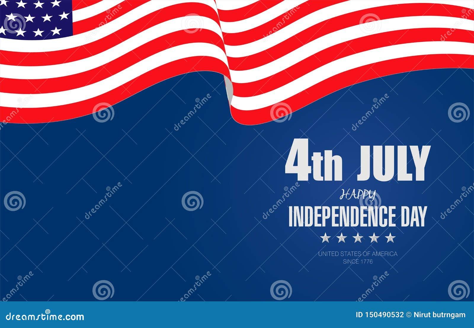 Lycklig 4th av Juli självständighet Day-04