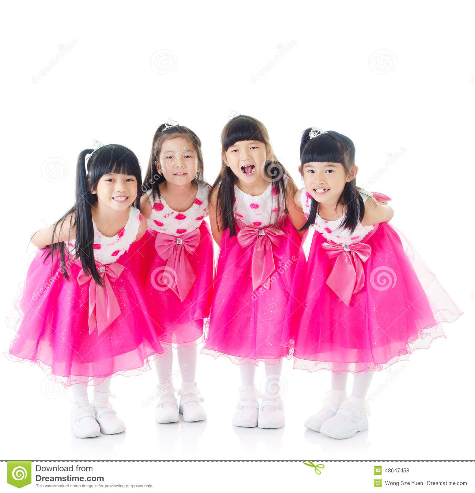 Lyckliga flickor