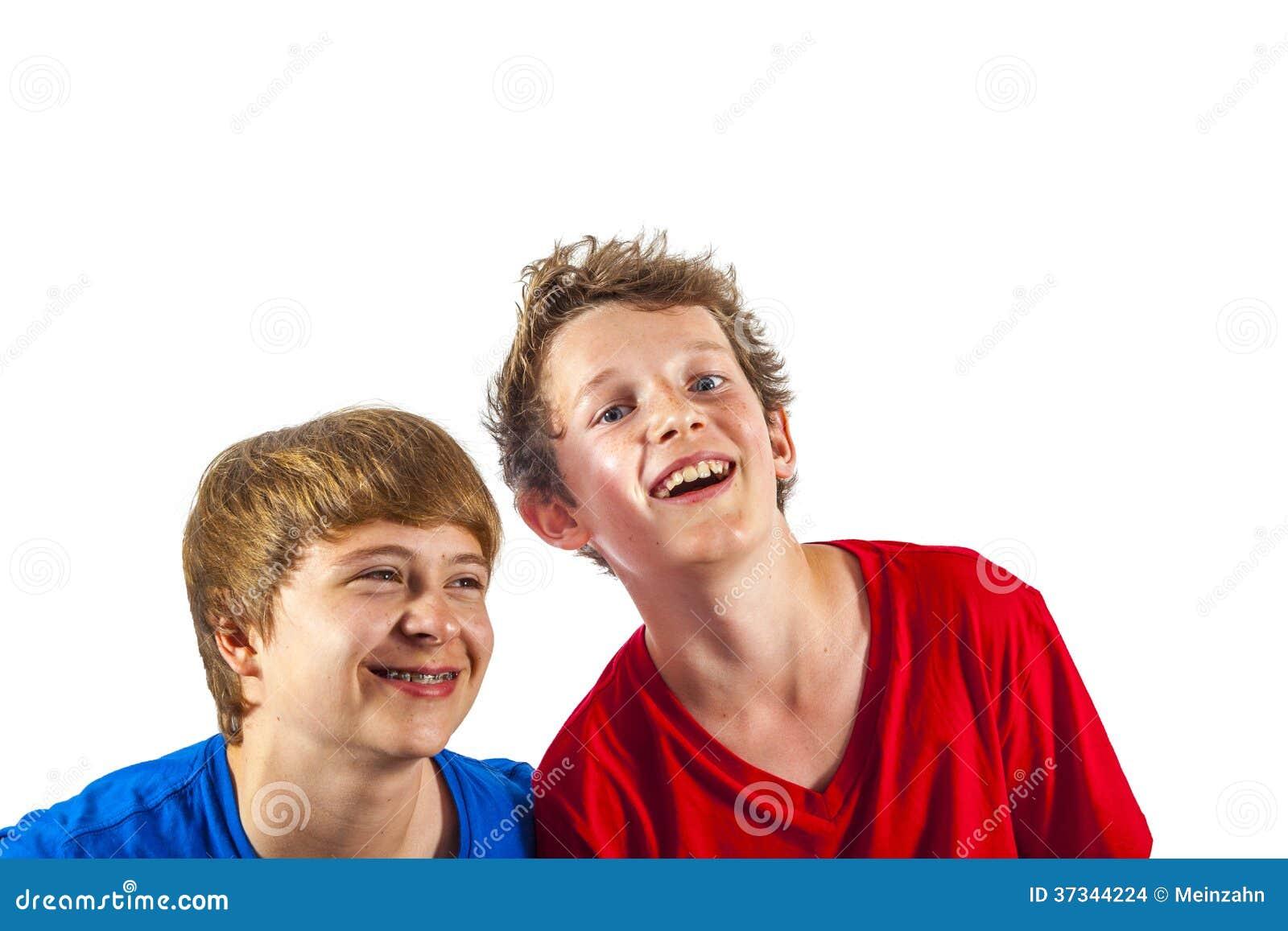 Lyckliga glade vänner tycker om liv