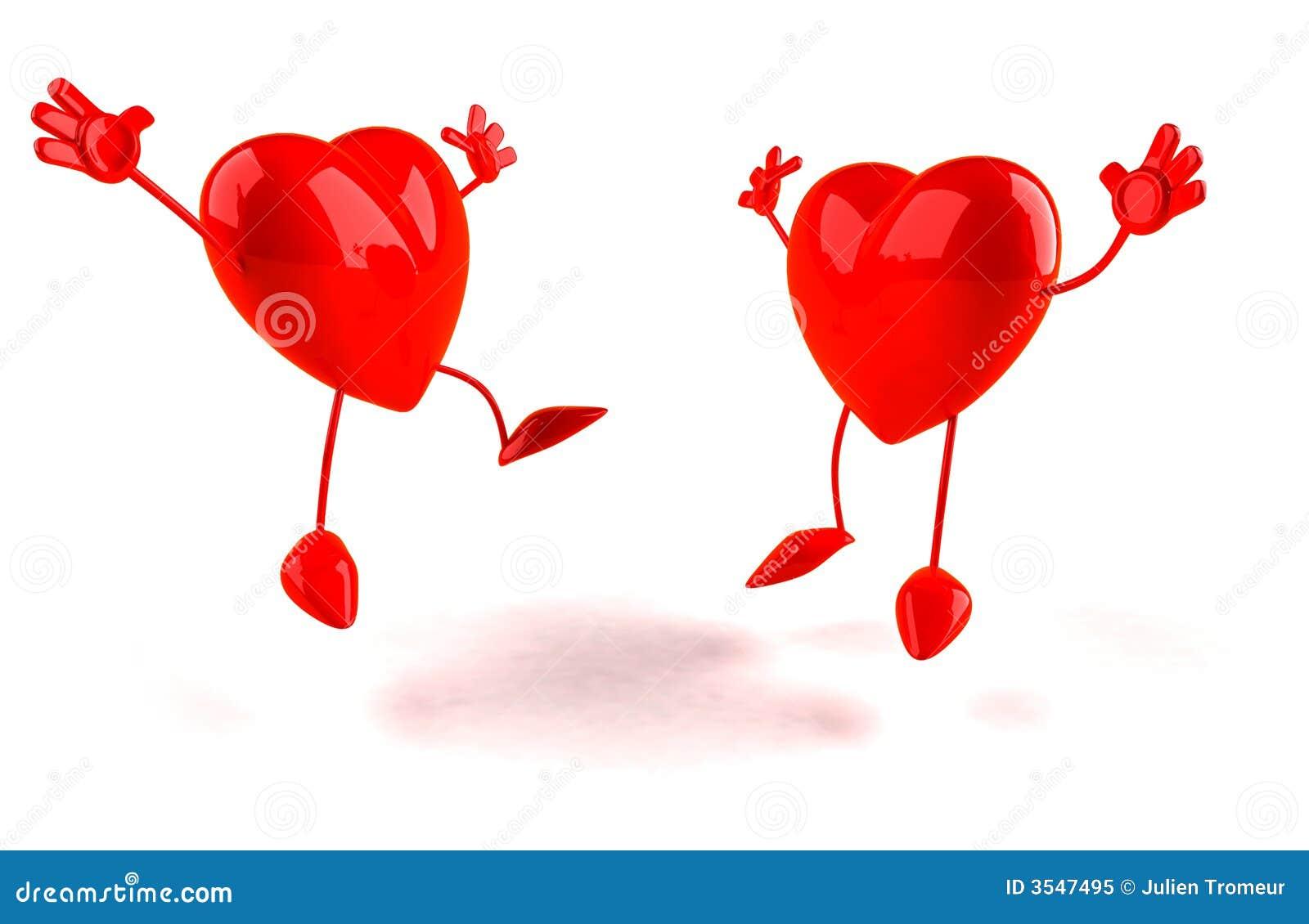 Lyckliga hjärtor