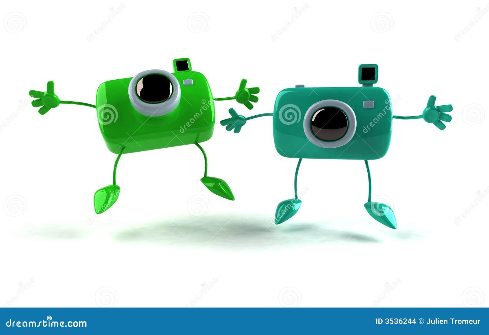 Lyckliga kameror
