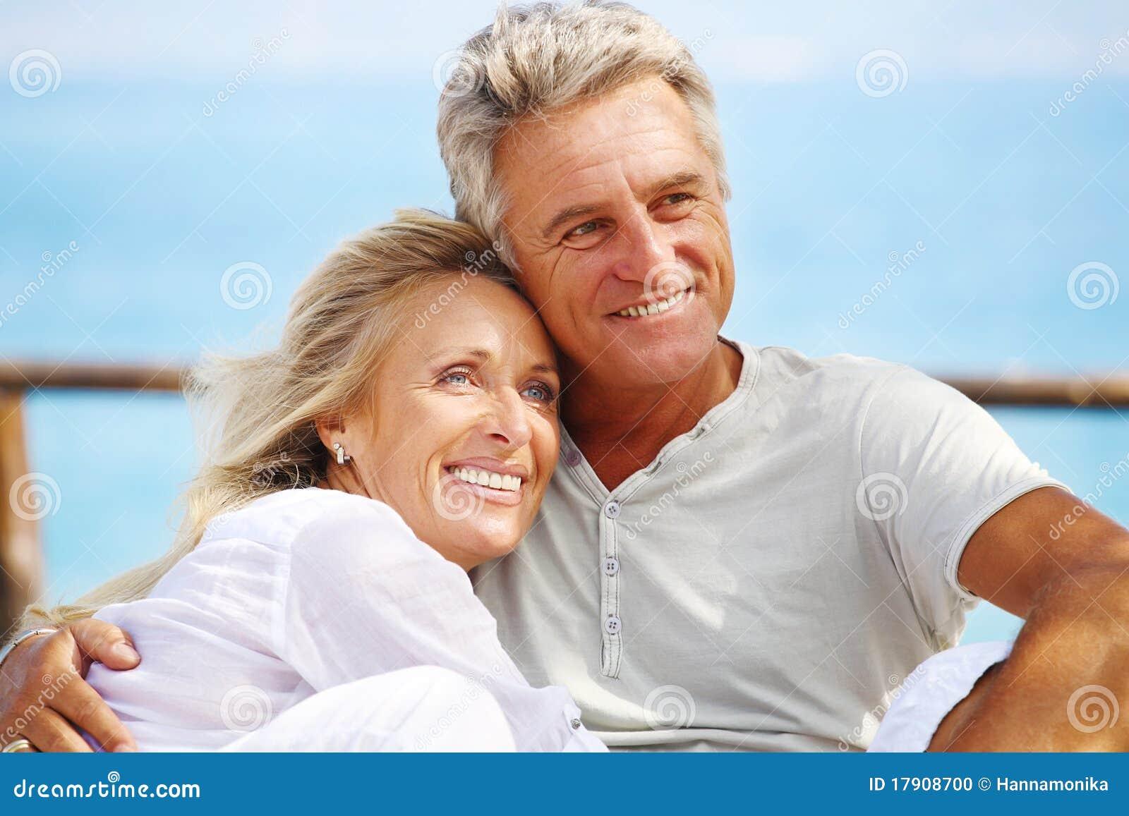 Lyckliga par mature