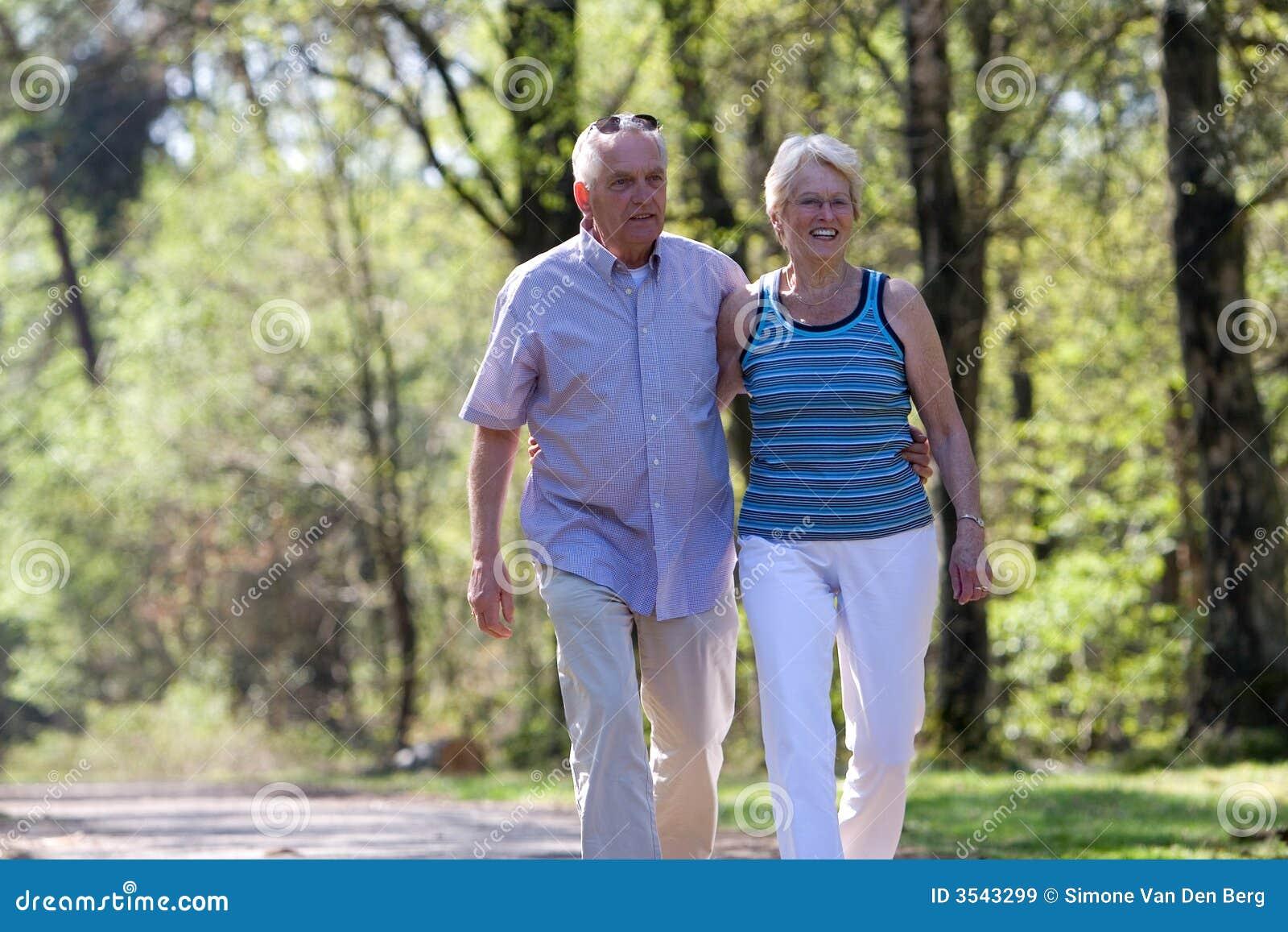 Lyckliga pensionärer