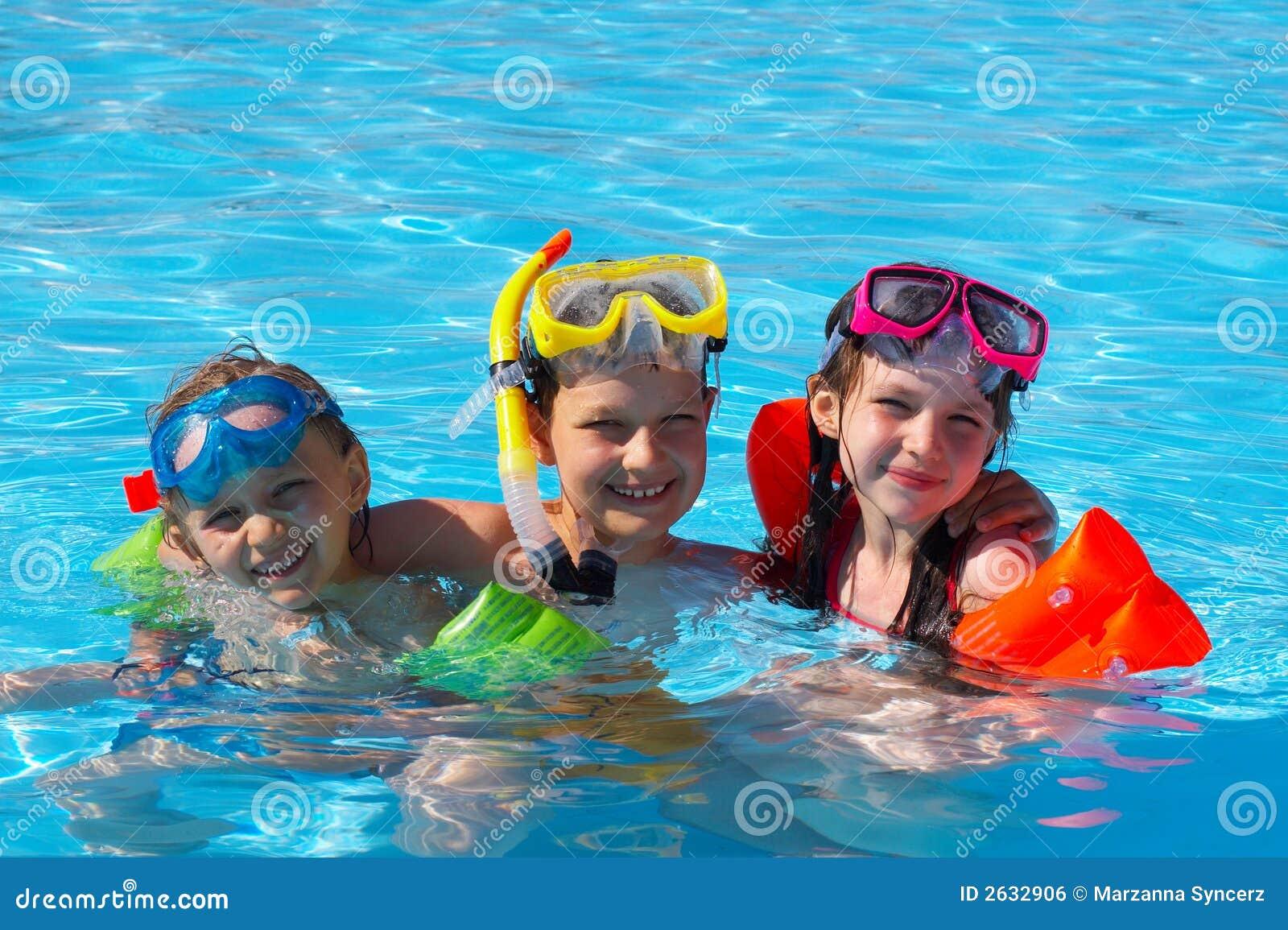 Lyckliga simmare