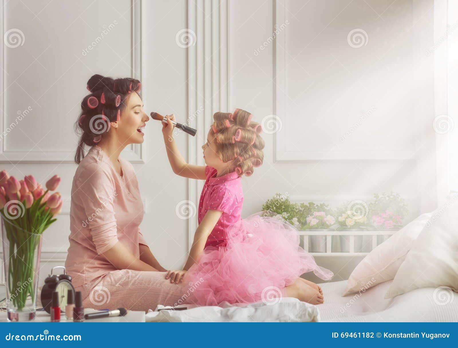 Lyckligt älska för familj