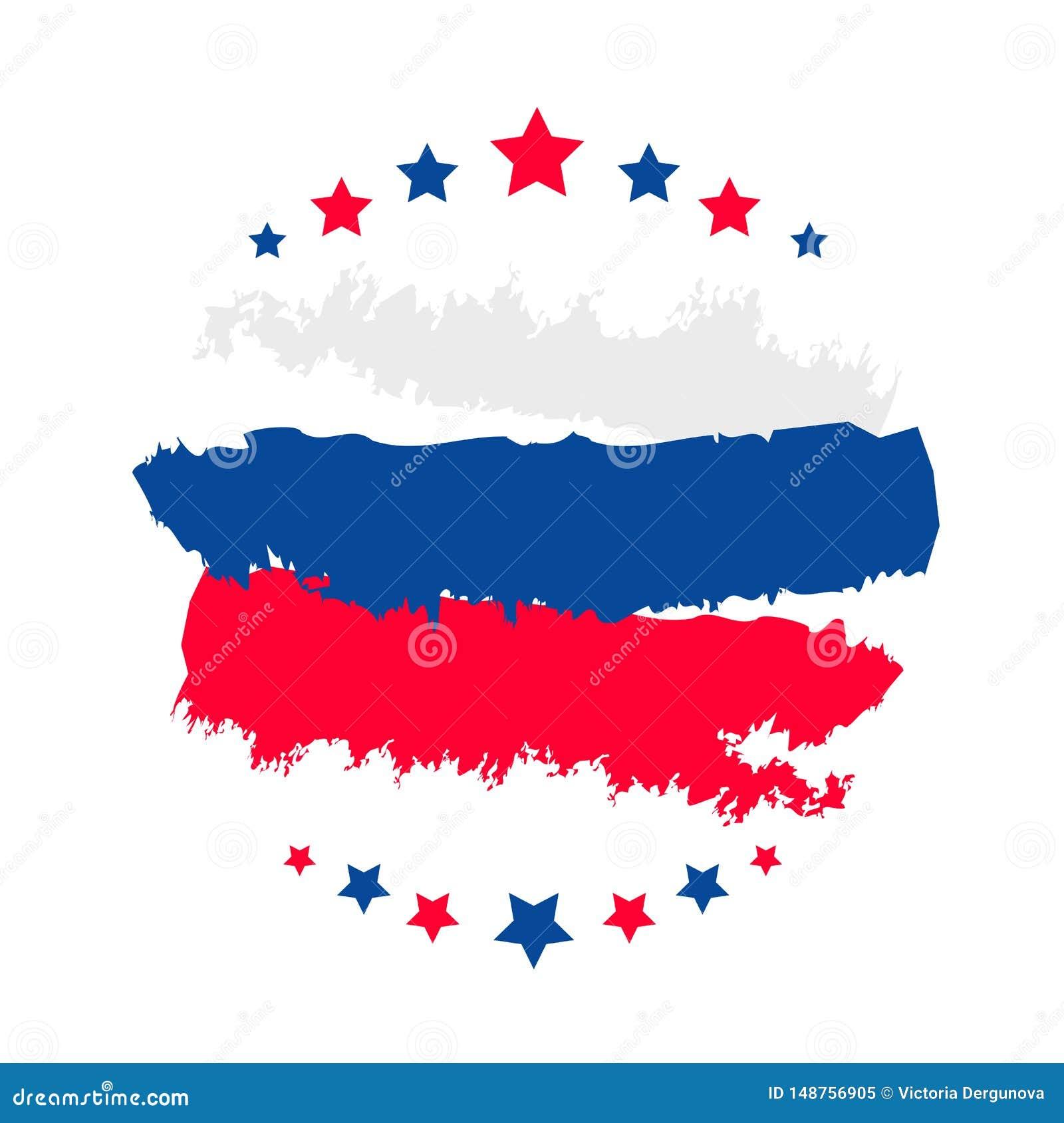 Lyckligt baner f?r Ryssland dagmall f?r tex
