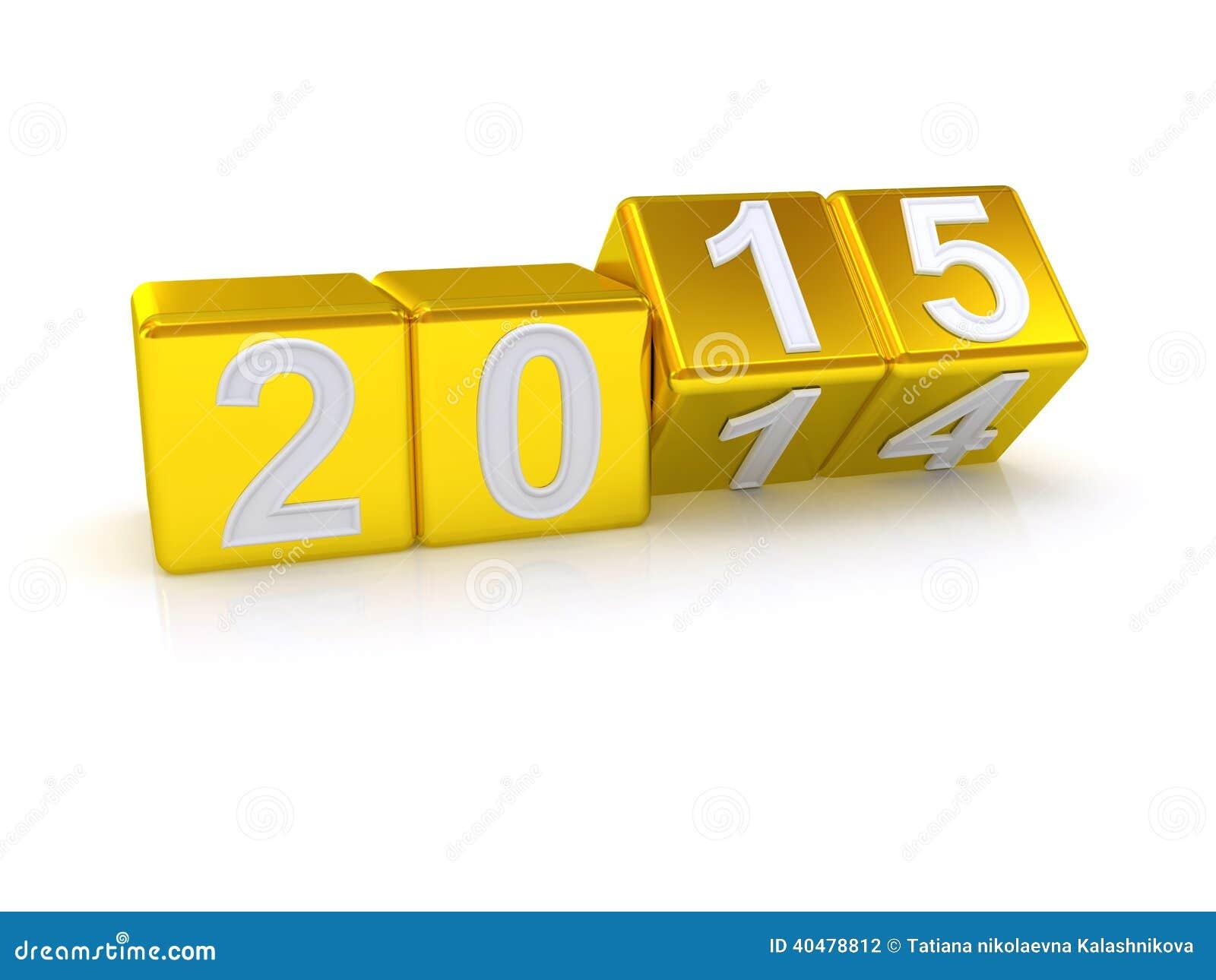 Lyckligt nytt år 2015.