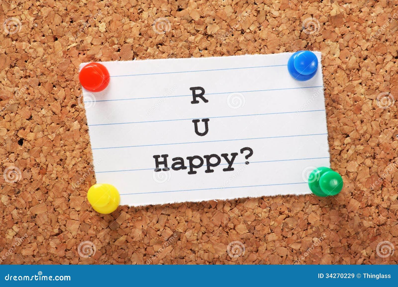 Lyckligt R U?