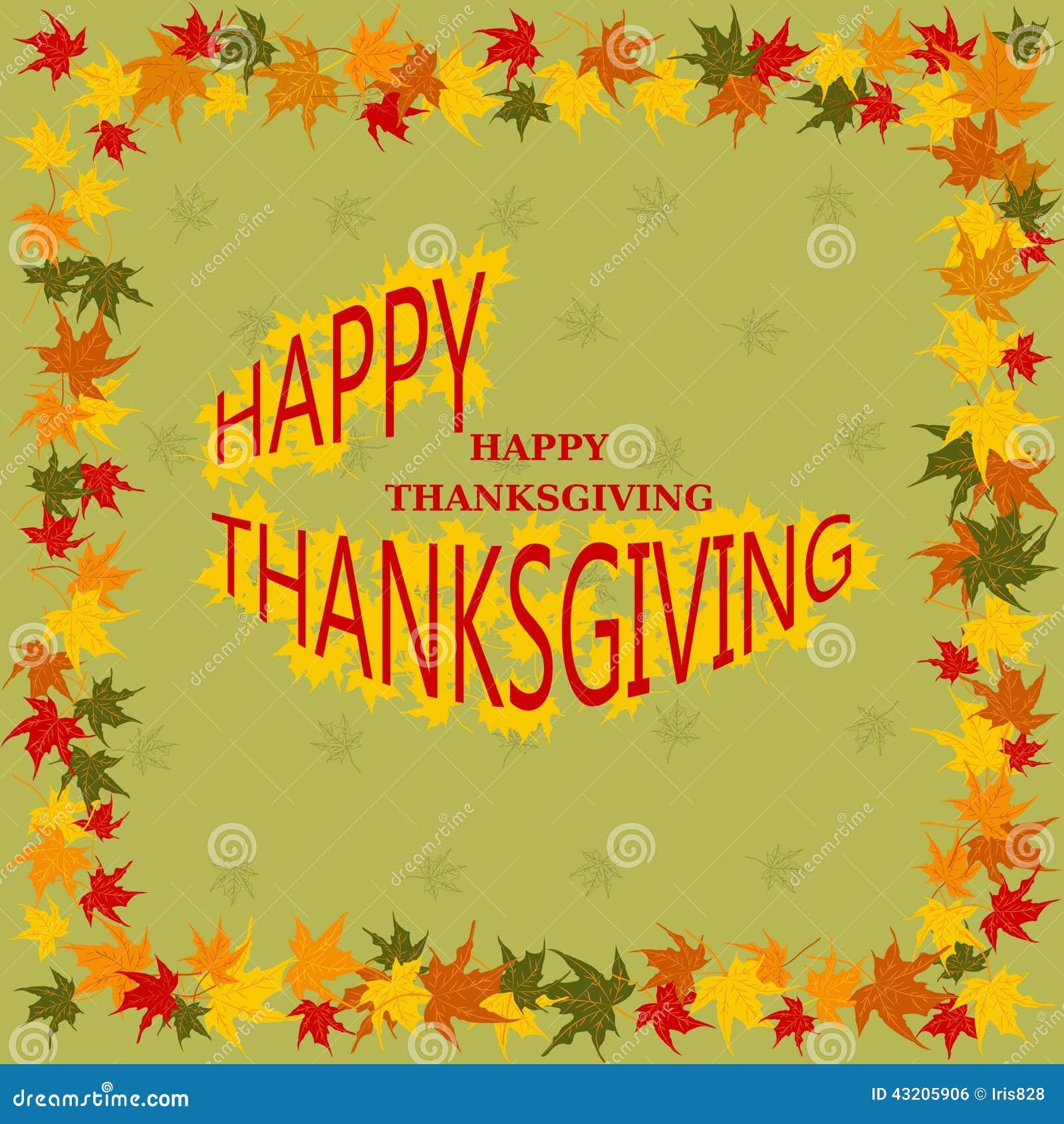 Download Lyckligt Tacksägelsedagkort Vektor Illustrationer - Illustration av naturligt, blom: 43205906
