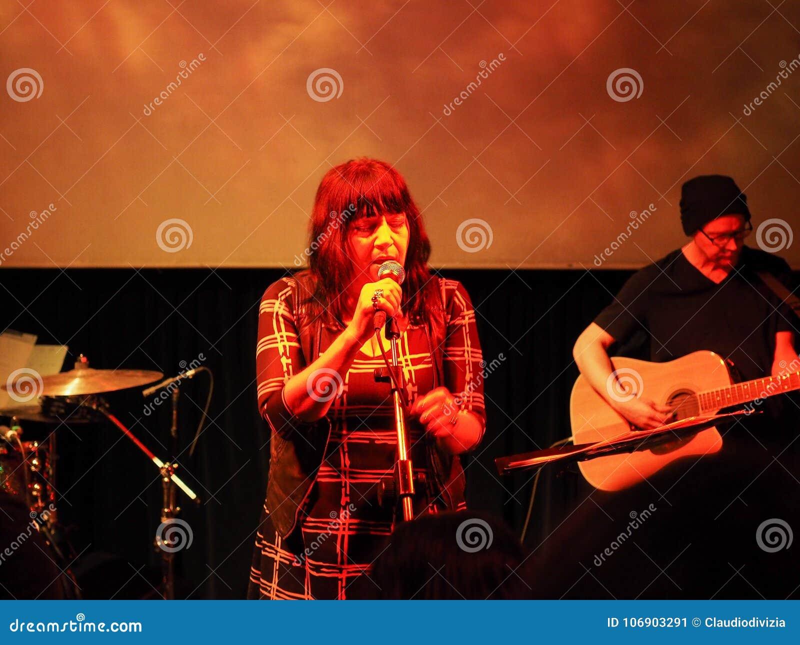 Lydia Lunch koncert w Turyn