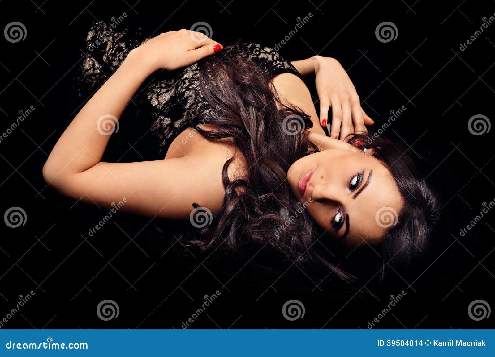 Download Lying woman stock photo. Image of woman, female, lying - 39504014