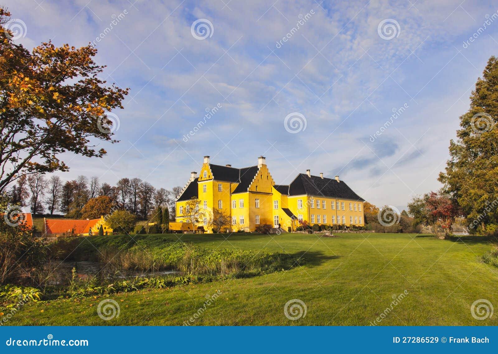 Lykkesholm slott på funen