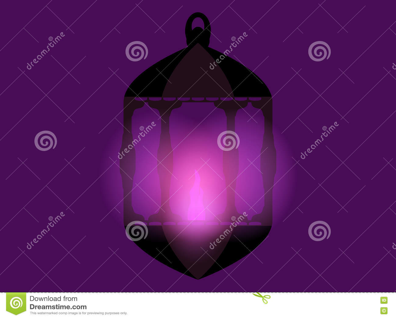 Lykta ramadan kareem Arabisk lykta Ramadan Lanterns vektor