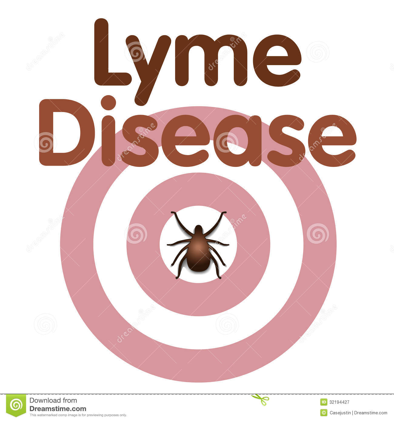 Lyme Disease, Tick, Bulls Eye Rash Royalty Free Stock Photography ...