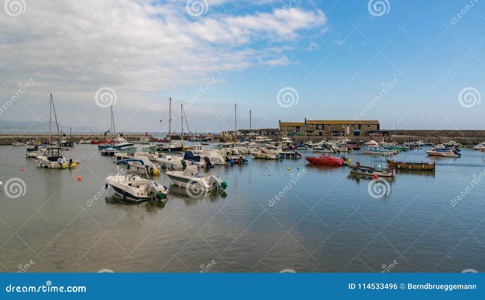 Lyme REGIS, Dorset, het UK