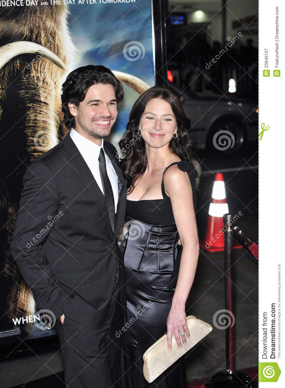 Lynn Collins, Steven Strait Editorial Photography - Image of