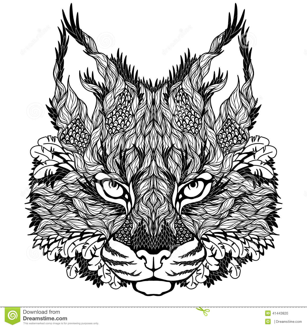 wolf coloring pictures