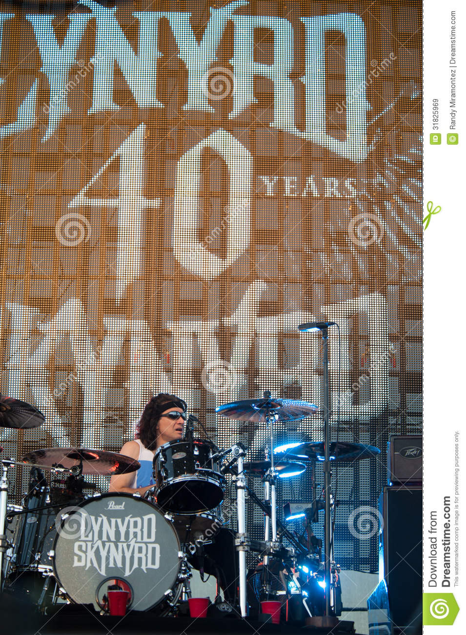 lincoln ca june rickey medlocke with lynyrd skynyrd performs at tattoo. Black Bedroom Furniture Sets. Home Design Ideas