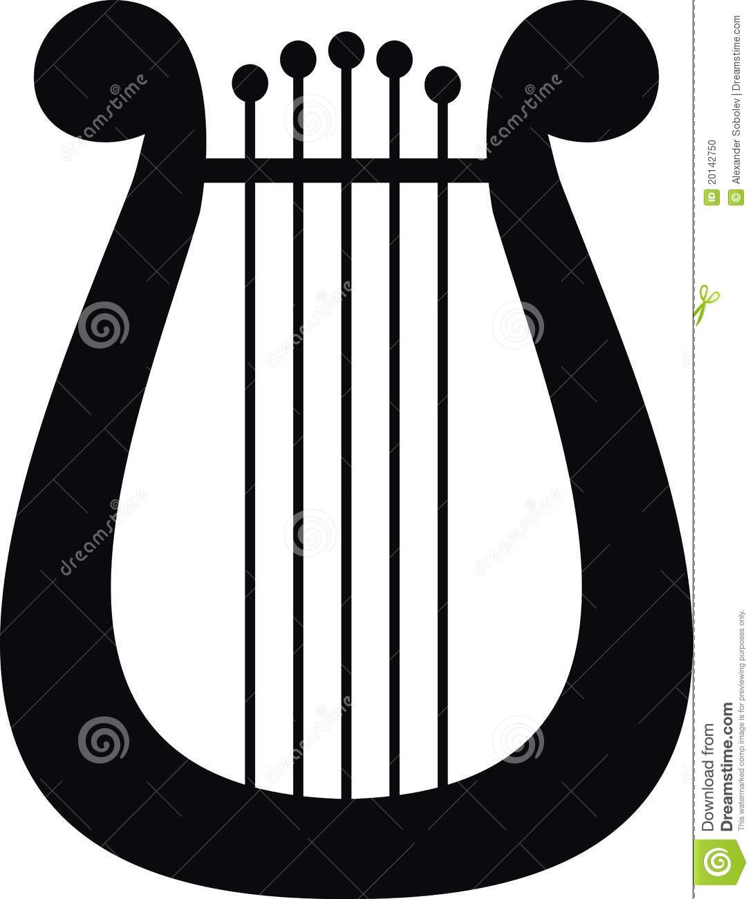 Lyre symbol of music and arts stock vector illustration of lyre symbol of music and arts buycottarizona