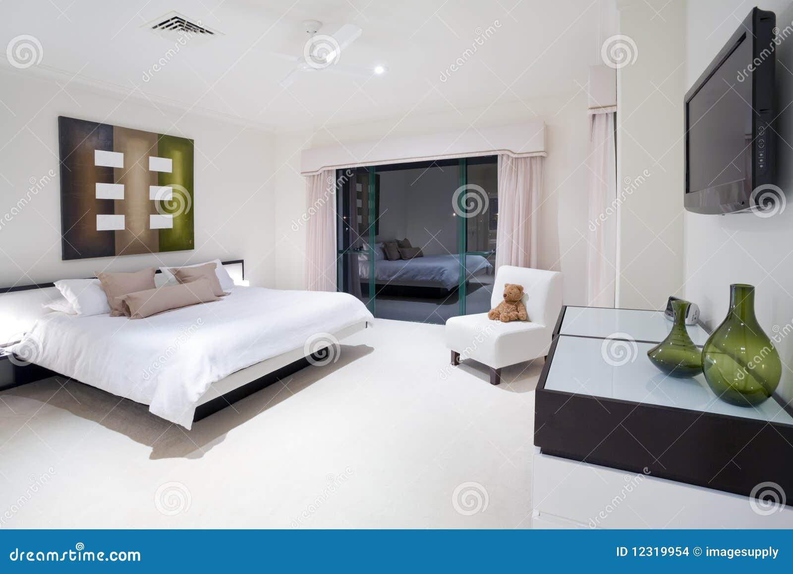 Lyxig herrgårdförlage för sovrum arkivbilder   bild: 12319954