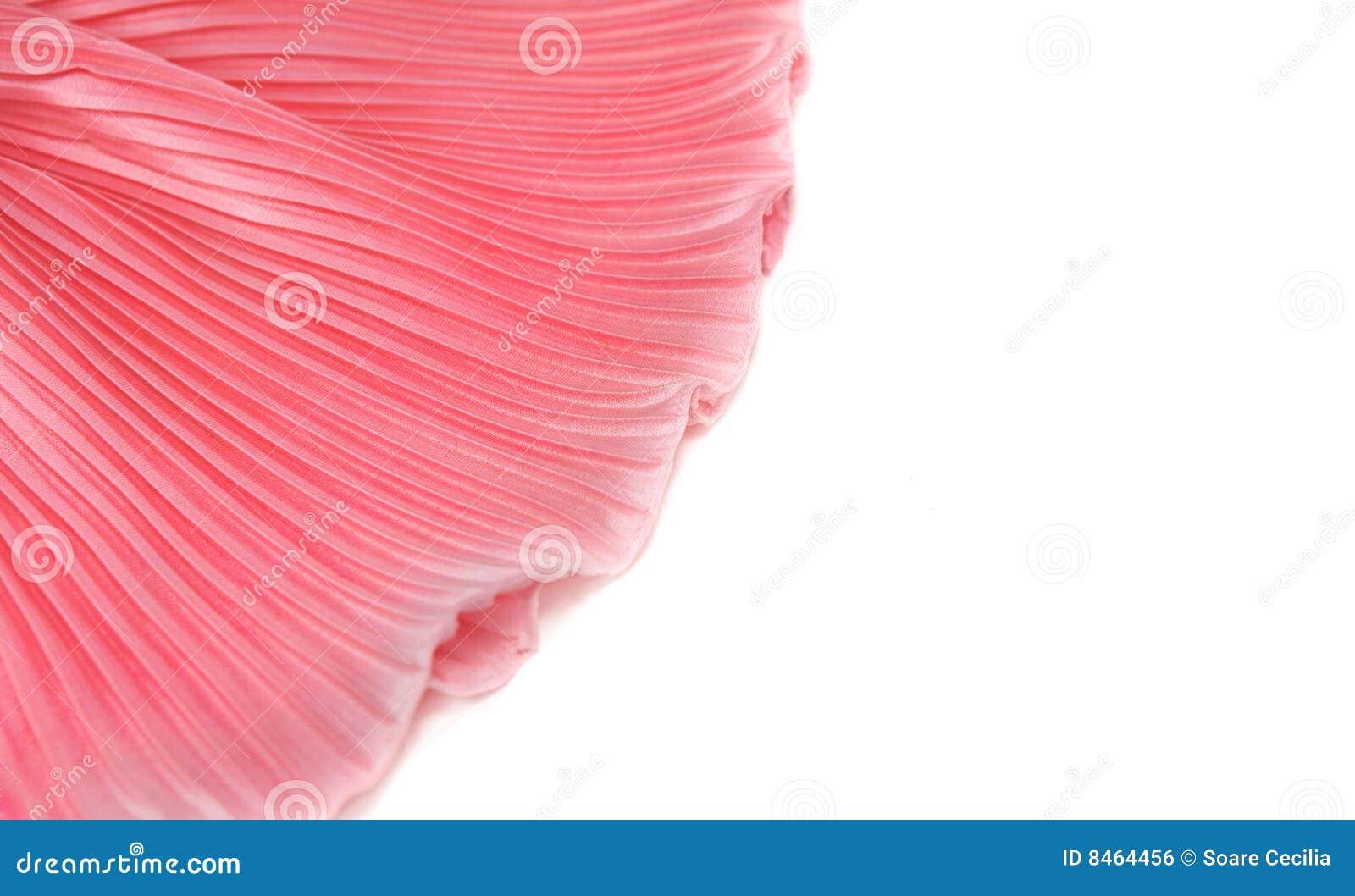 Lyxig rosa silk