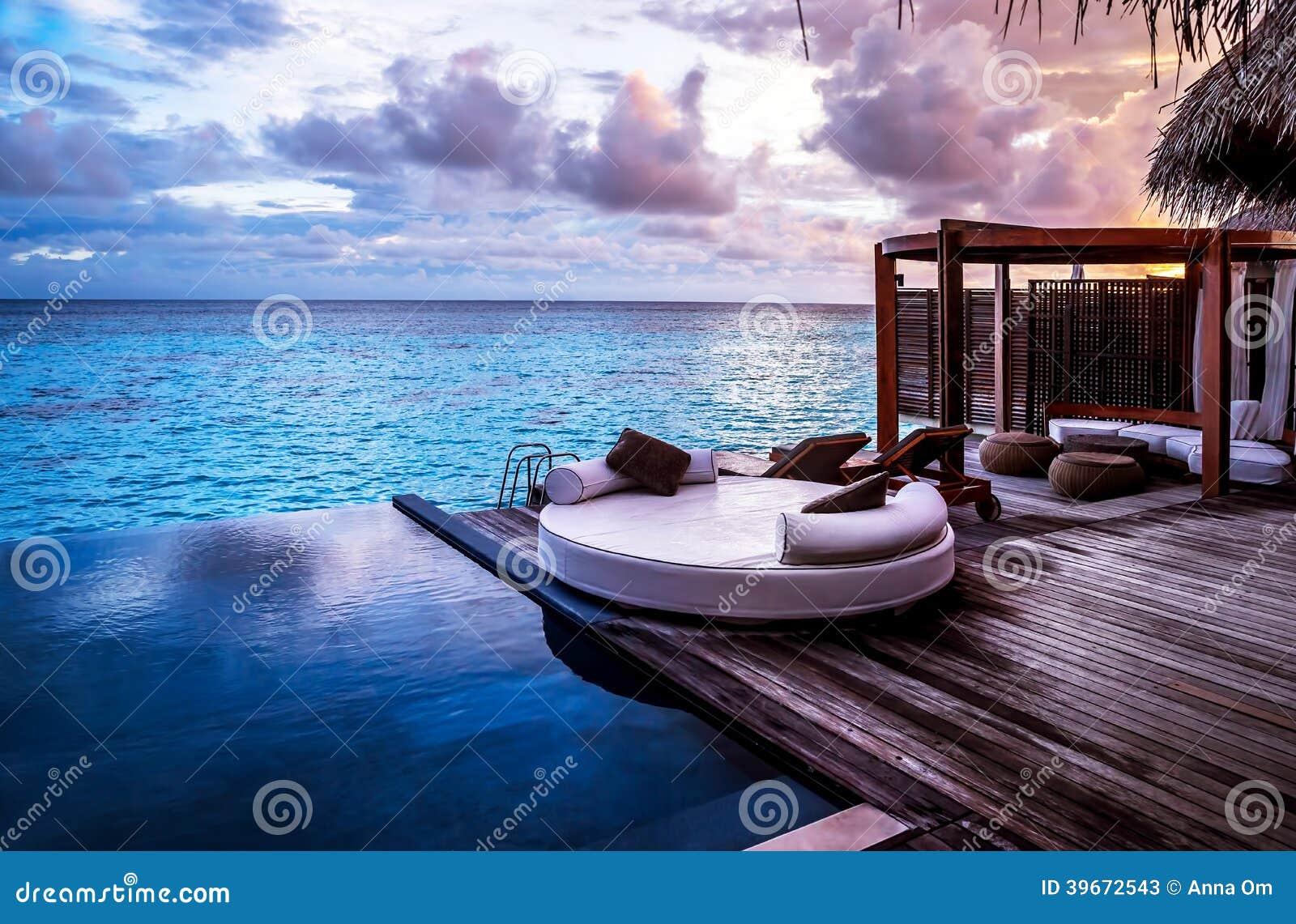 Lyxig strandsemesterort