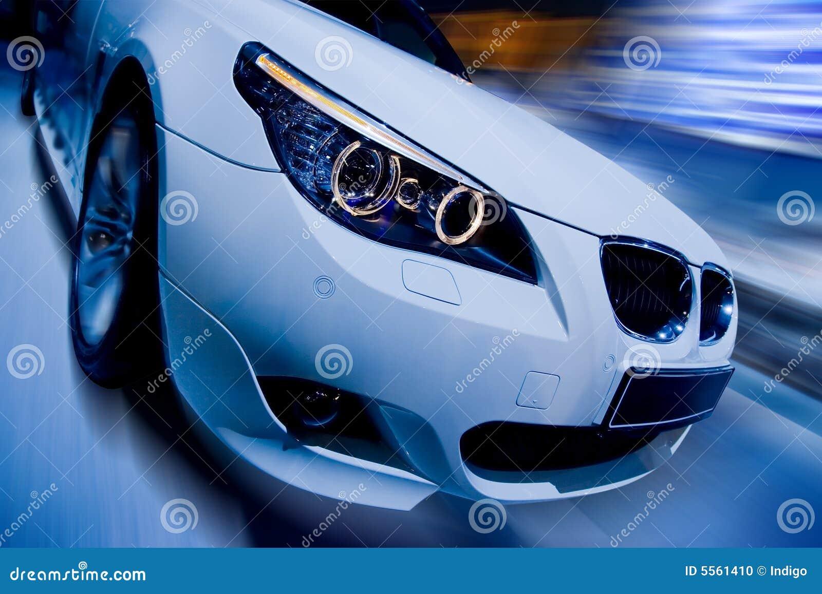 Lyxig white för bil