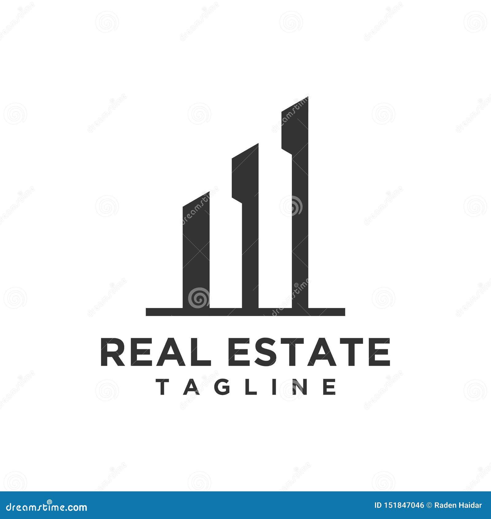 Lyxiga Real Estate Logo Design