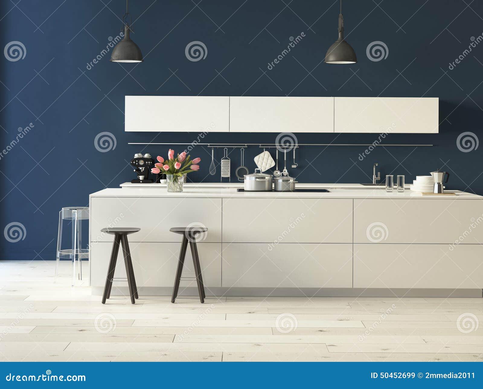 Lyxigt kök med rostfritt stålanordningar