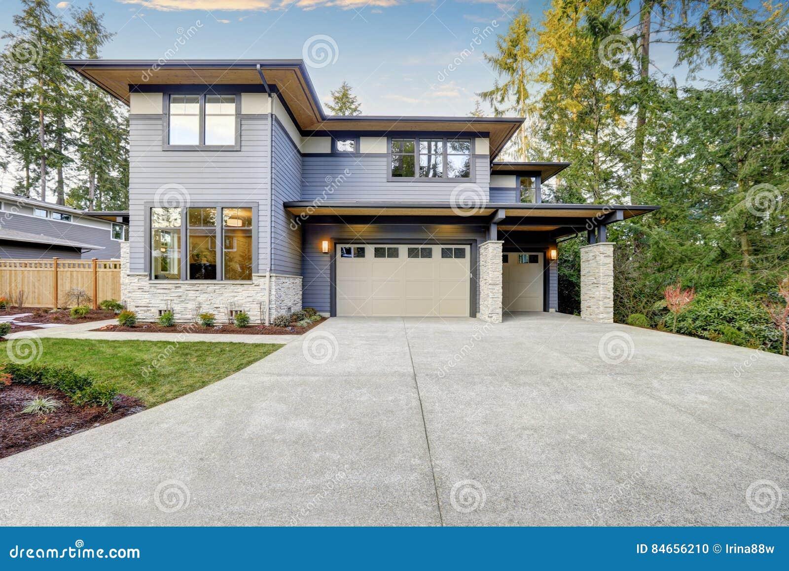Lyxigt nybyggnadhem i Bellevue, WA