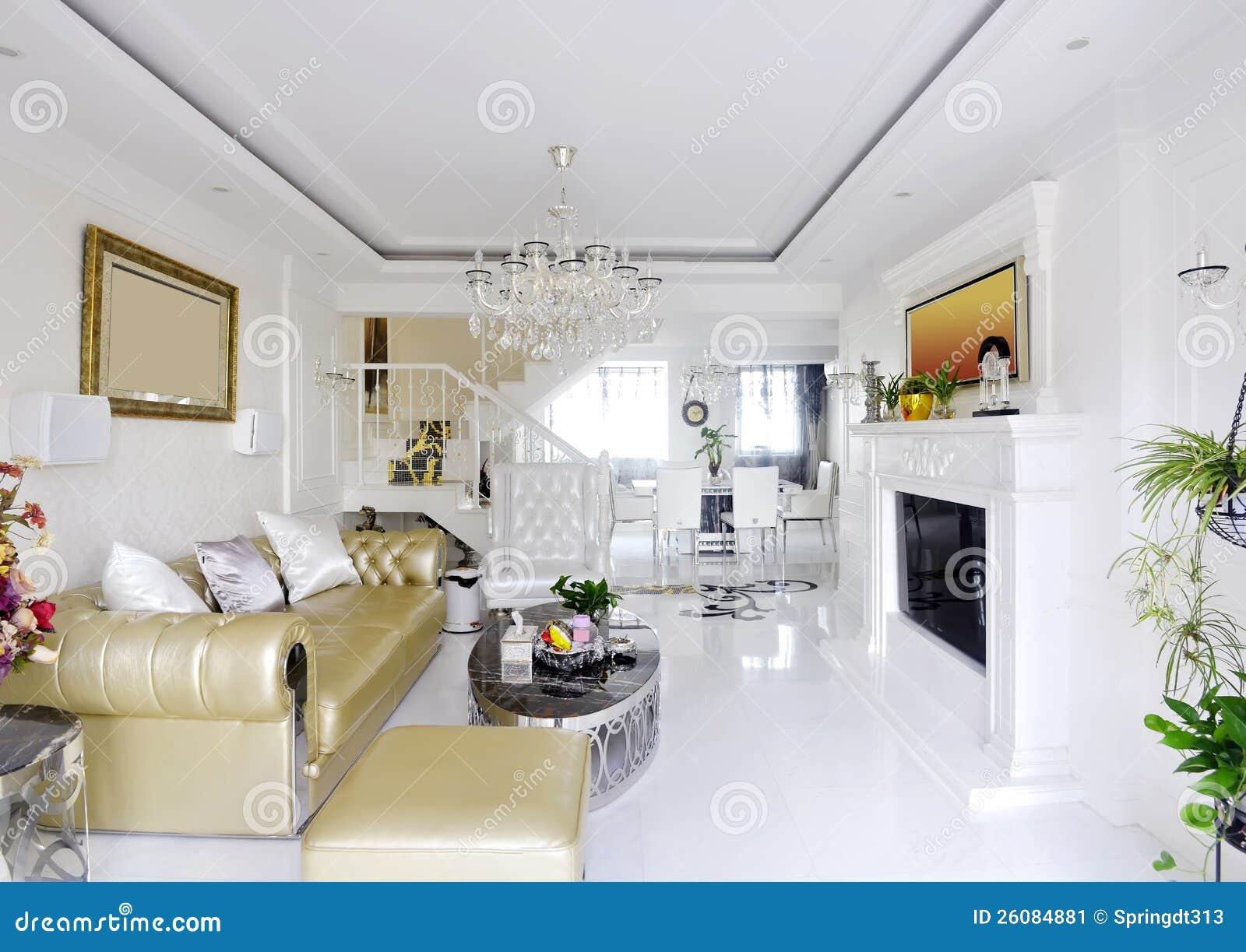 Lyxigt vitt nytt vardagsrum foton – 700 lyxigt vitt nytt ...