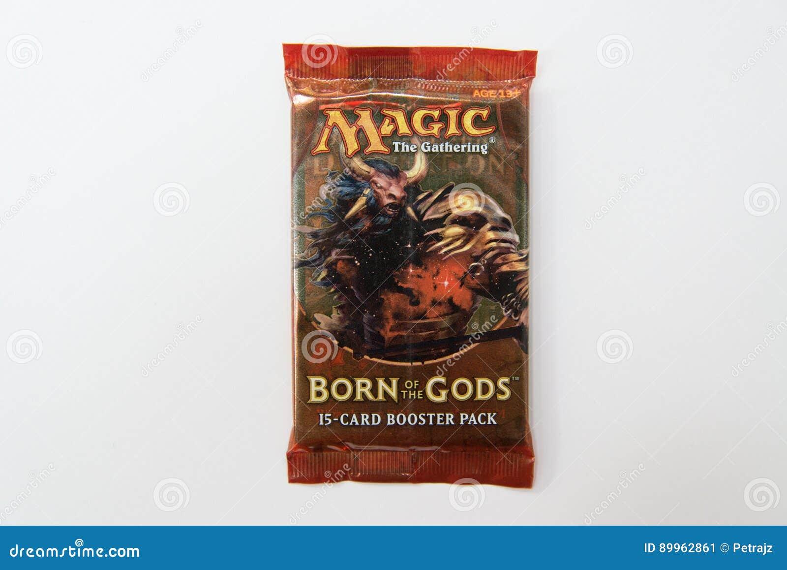Mágica o recolhimento carregado do bloco do impulsionador dos deuses