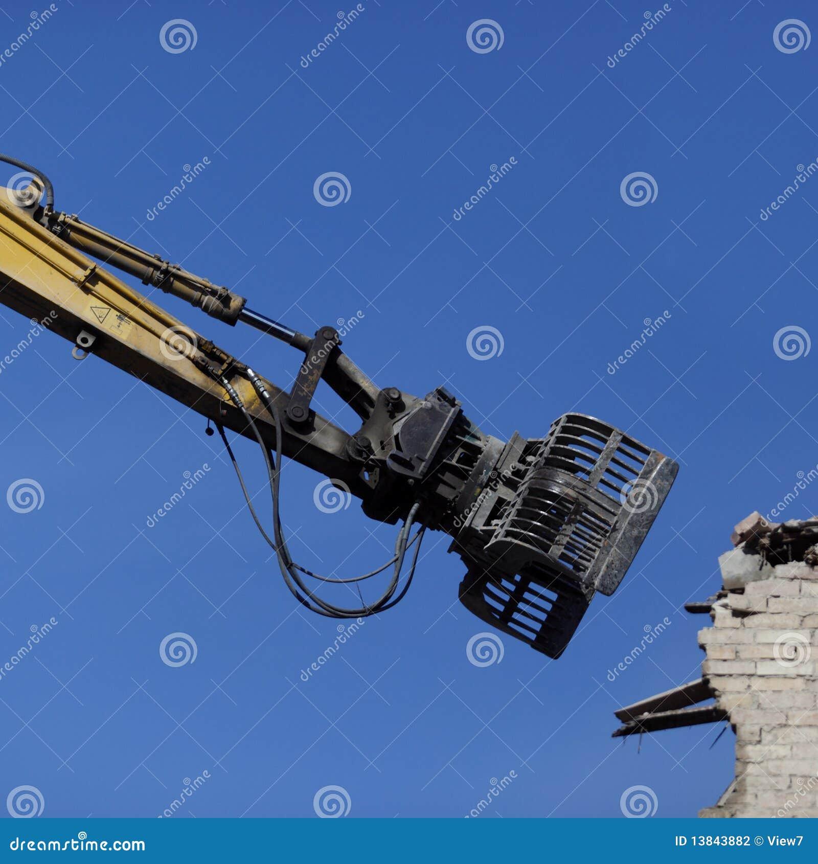 Máquina da demolição