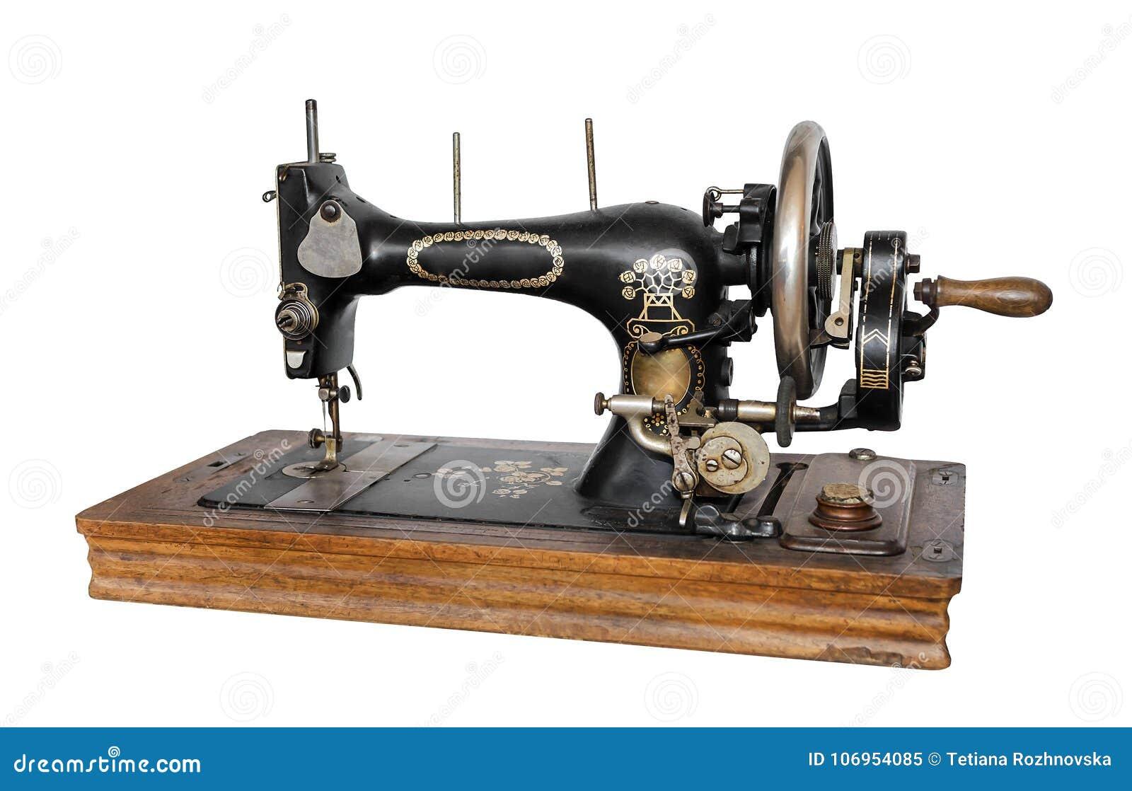 Máquina de costura velha