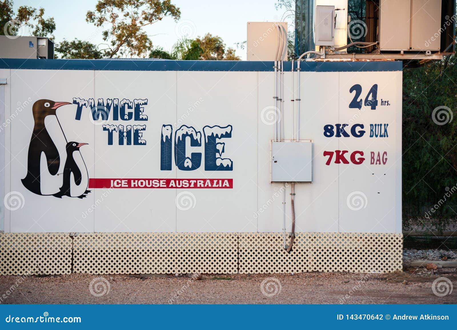 Máquina de gelo desacompanhada que vende sacos do gelo 24x7