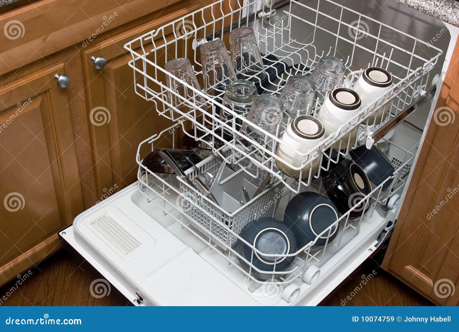 A máquina de lavar louça