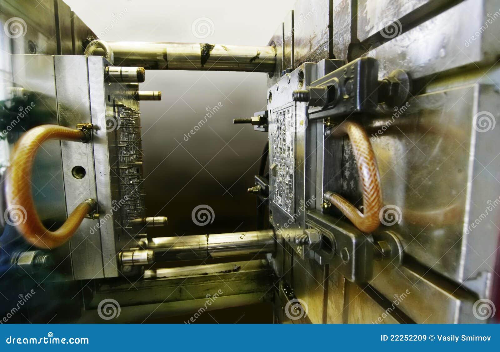 Máquina del moldeo a presión