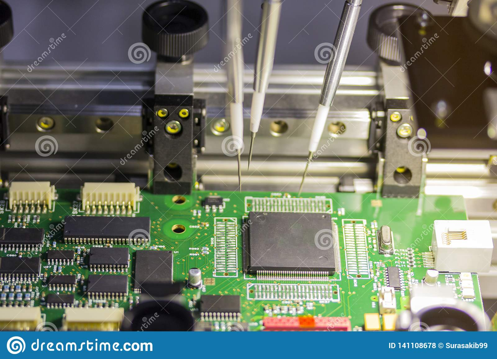 Máquina del sistema automático para fabricar a la placa de circuito impresa