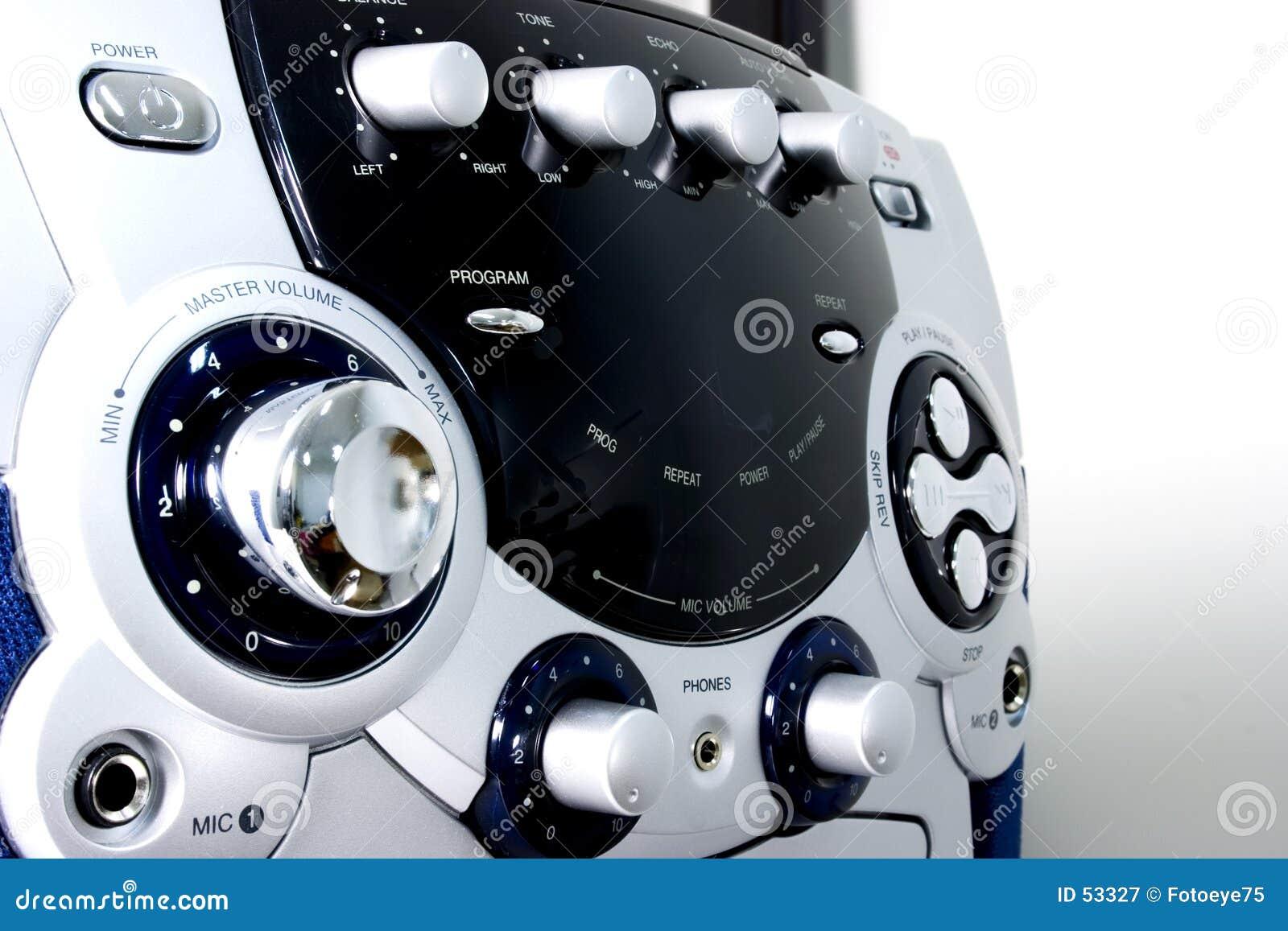 Máquina do karaoke