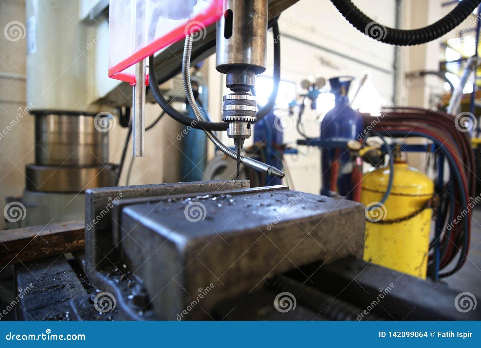 Máquina do torno de Industriel A