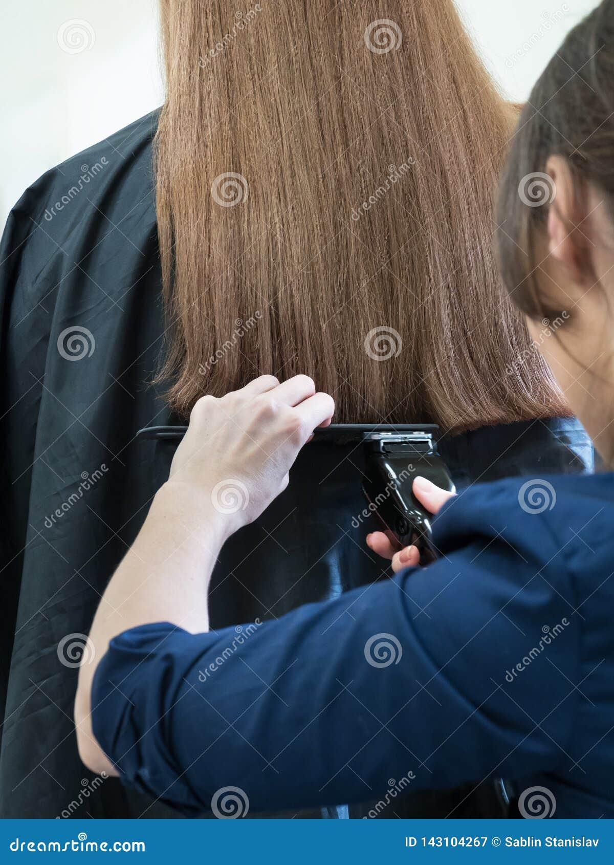 Máquina larga del pelo del corte de pelo Pelo de la longitud de la alineación
